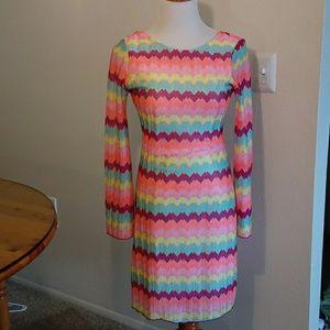 Mona B dress size small colorful
